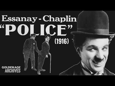 Charlie Chaplin In Police (1916) Full Movie HD
