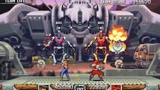 Wild Guns Reloaded 2 player 60fps