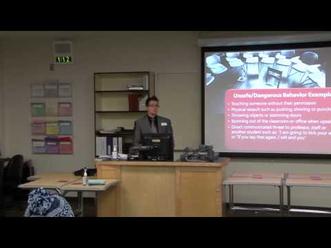 Managing Distressed  & Disruptive Students: An Empowerment Approach