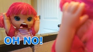 BABY ALIVE School Starts In 3 Days And I Have PINK HAIR! Baby Alive Videos!