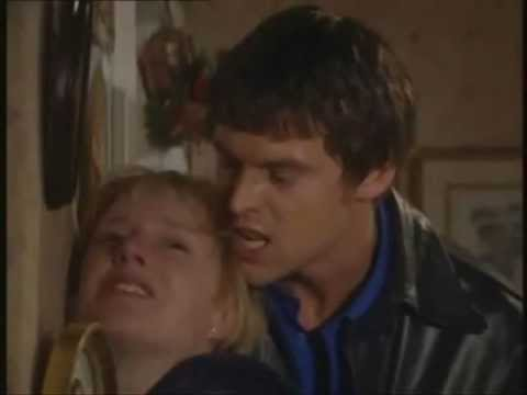 Coronation Street - Greg Kelly Beats Up Sally