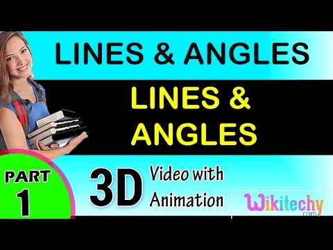 Lines and angle maths class 8 9 10 11 12 trick shortcuts online videos cbse ncert puzzles