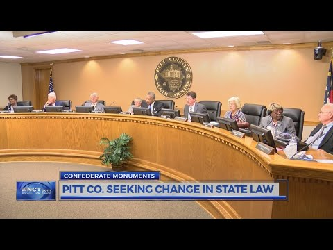 Pitt Co. Commissioners will not pursue confederate monument changes