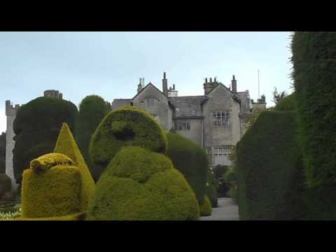 LEVENS HALL.  WORLD'S BEST TOPIARY GARDEN.