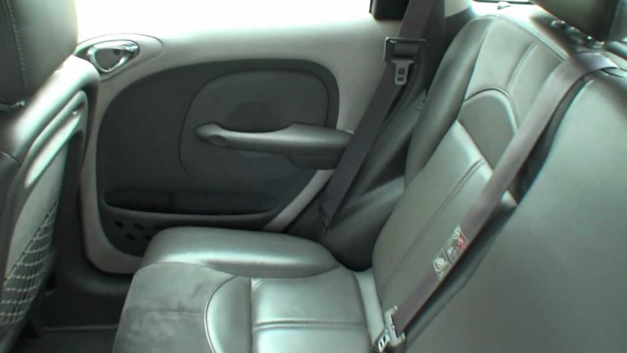 chrysler pt cruiser interior youtube. Black Bedroom Furniture Sets. Home Design Ideas
