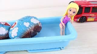 Poli Pocet Havuz Oyunları Oynuyor Eğlenceli Videolar
