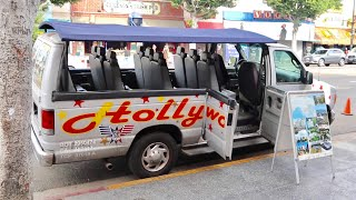 Hollywood Van Tour  Full Experience  - Celebrity Homes  Beverly Hills  Rodeo  Mulholland Drive