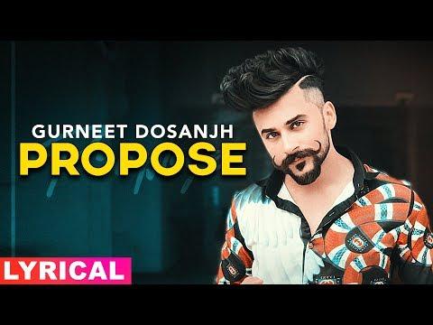 propose-(lyrical)-|-gurneet-dosanjh-|-desi-crew-|-latest-punjabi-songs-2019-|-speed-records