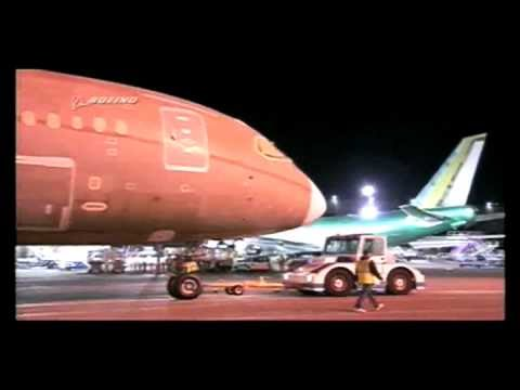 Boeing 787 assembling 8min22sec of magic