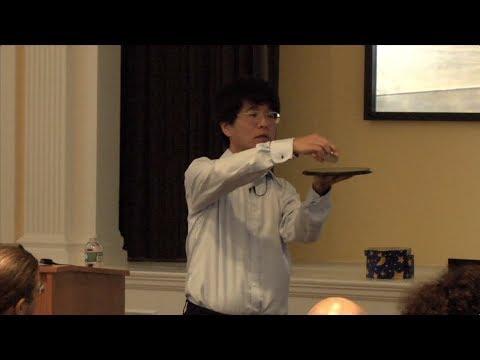 Tadashi Tokieda || Toys in Applied Mathematics || Radcliffe Institute