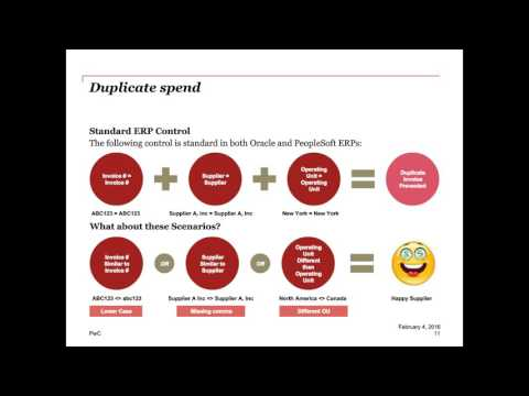 Oracle EBS Webcast Series: Navigating E-Business Suite's procure-to-pay processing complexity