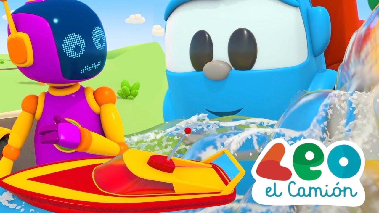 Leo el Camión Nuevos Episodios - Leo y el Bote de Carreras - Barcos para Niños