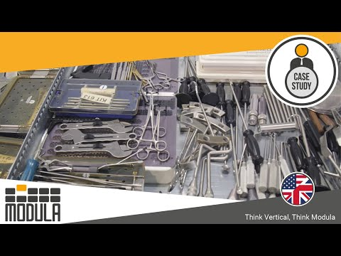 Vertical Automatic Warehouse To Store Instruments For Orthopaedic Surgery Innomed [USA] - Orthopedic