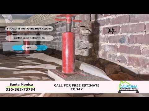 Santa Monica Foundation Repair | California Foundation Works (310) 362-7378