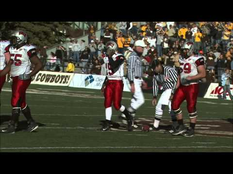 2007 COLLEGE FOOTBALL WYOMING COWBOYS 29 UNLV REBELS 24