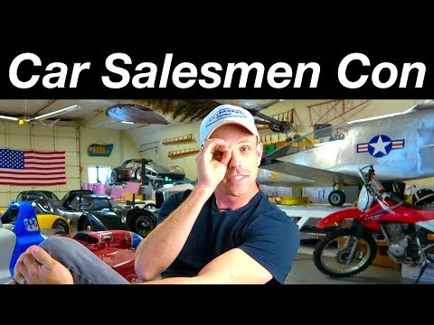 Car Sales Con Artists And How To Beat Manipulative Salesmen