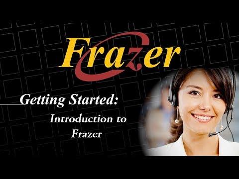 Frazer Tutorial - Introduction to Frazer