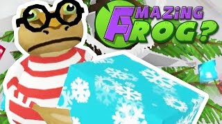 FINDING THE FINAL PRESENTS - Amazing Frog Christmas Update Beta - Part 79 | Pungence