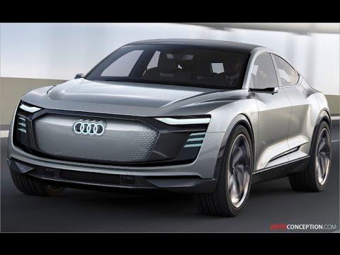 Car Design: 2017 Audi e-tron Sportback Concept