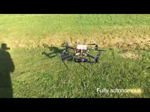 Fully autonomous Drone cargo delivery demonstration