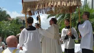 Corpus Christi Procession in Ave Maria, FL
