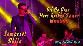 Mere Rashke Qamar - Dil De Diya Hai | Sampreet Dutta | Mashup | Live Performance