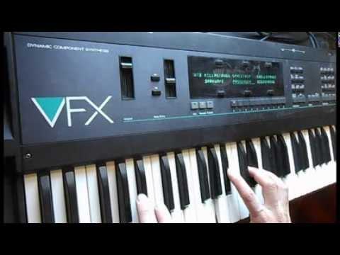 Ensoniq VFX Synthesizer Dark Soundscapes & Raw Waveforms