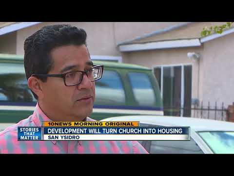 Church in San Ysidro to be turned into affordable housing