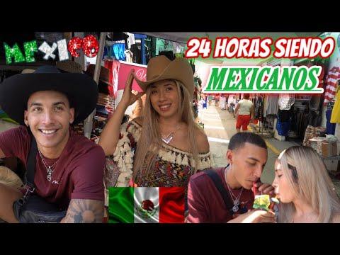 Download 24 HORAS SIENDO MEXICANOS 🇲🇽 + Cambio de Look ✂️