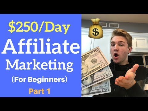 How To Make $250/Day With Affiliate Marketing As A Beginner (Part 1)