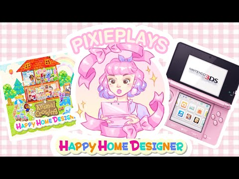 Let's Play Animal Crossing Happy Home Designer! ♡ PIXIEPLAYS ♡