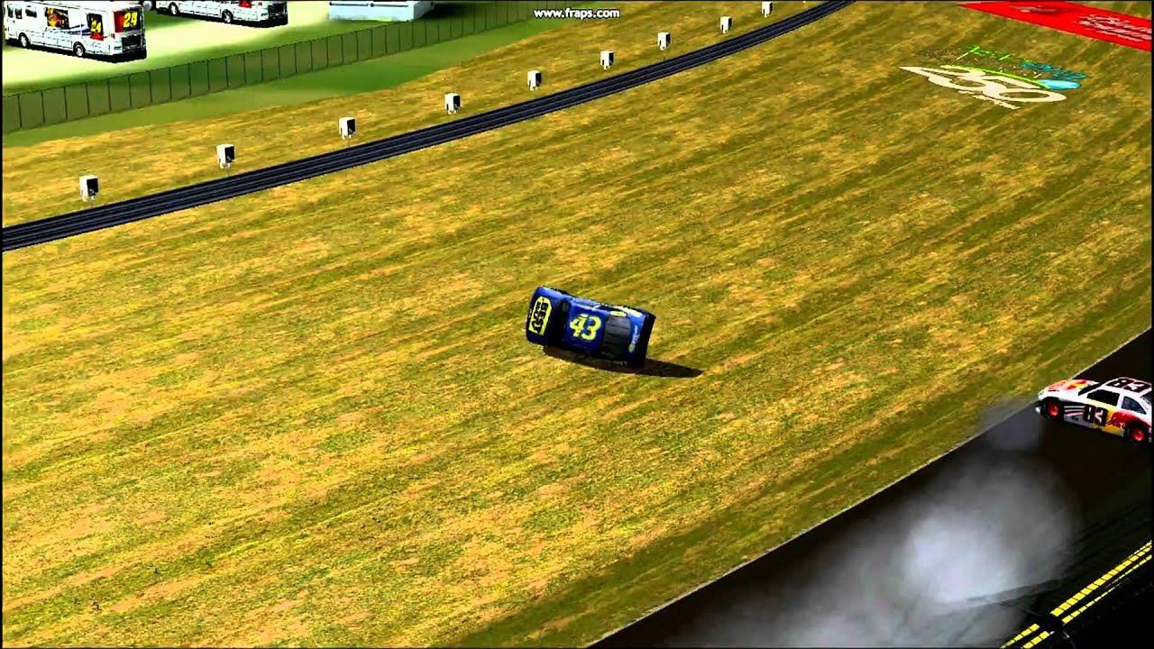 NR2003 ~ Allmendinger Dies from Track Chassis Grip Overdosage ~