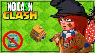 I Went BROKE... Clash of Clans No Cash Clash #12