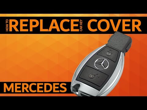 MERCEDES – How to replace car key cover