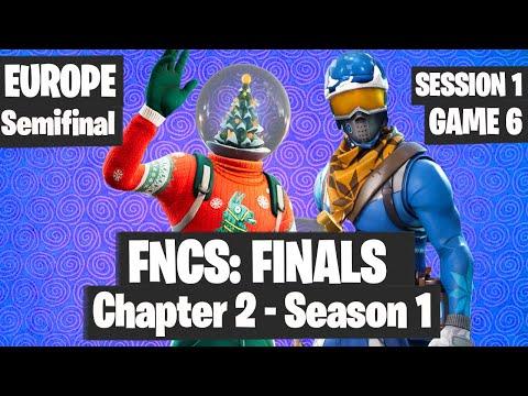Fortnite FNCS FINAL EUROPE Highlights Session 1 Game 6