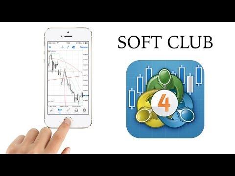 MetaTrader 4 - Обзор приложения на IPhone от Soft Club