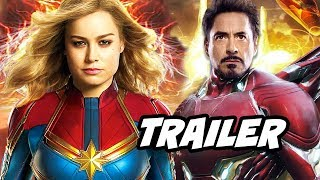 Captain Marvel Trailer - New Avengers Prequel Origin Story Explained