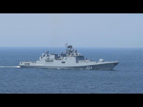 Russian Frigate Admiral Grigorovich RFS-494 on Their Way - Fragata Admiral Grigorovich a Caminho