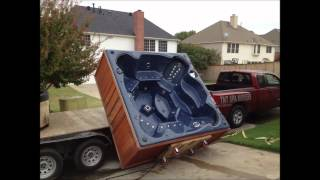 Video How to Move a Hot Tub / Spa ~ TNT Spa Movers ~ Hot Tub / Spa Moving download MP3, 3GP, MP4, WEBM, AVI, FLV Juni 2018