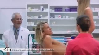 TOP 10 Funny BANNED CONDOM Commercials YOU MUST SEE