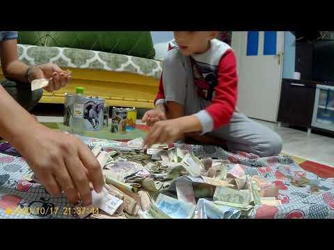 10 Yıldır biriktirdiğimiz kumbaraları açtık kaç para çıktı?