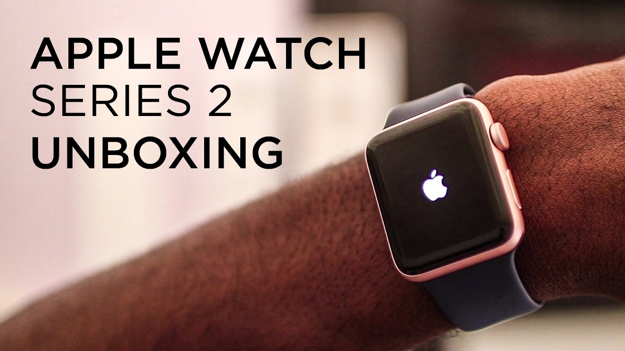 Apple Watch Series 2 Unboxing Rose Gold Youtube
