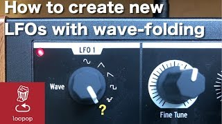 Quick synth trick: How to create complex LFOs with wavefolding (MiniBrute 2S, TipTop Fold)