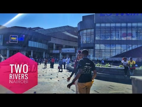 Two Rivers in 9 minutes! Biggest mall in Africa? Nairobi vlog.