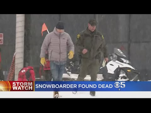 Snowboarder Who Went Missing Overnight Found Dead At Squaw Valley