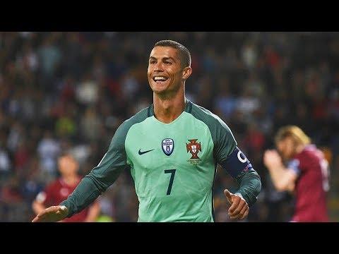 Cristiano Ronaldo vs Latvia ● Individual Highlights ● (09/06/2017) HD