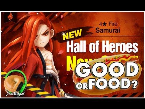 SUMMONERS WAR : JUN the Fire Samurai Hall of Heroes Announced - Good or Food?