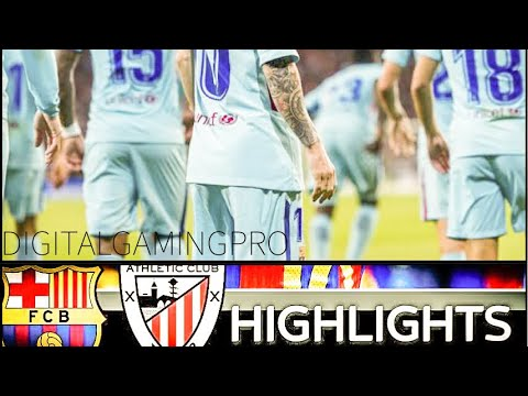Barcelona vs Athletic Club 2:0 - Extended Highlights and Goals HD