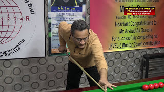 Gambar cover Snooker Coaching/Training! Normal Cushion Shot by Arshad Qureshi (Snooker Coach)