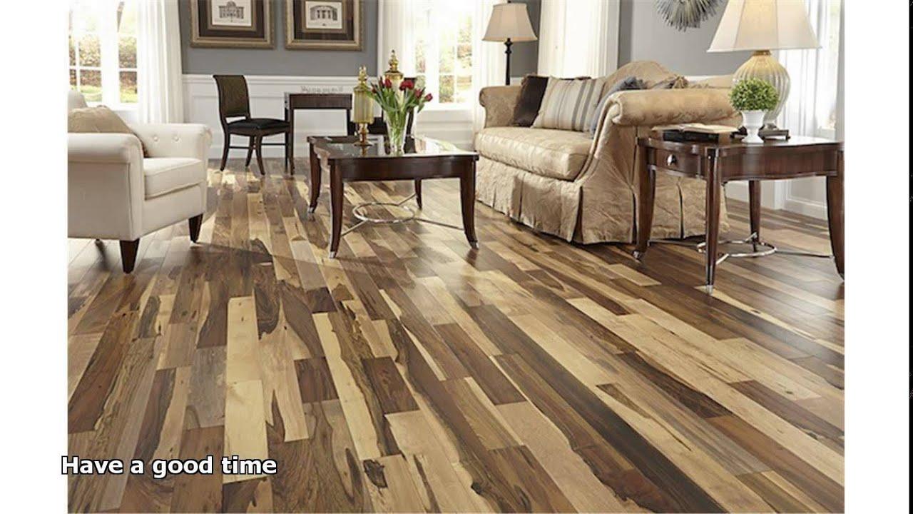 pecan hardwood flooring - YouTube